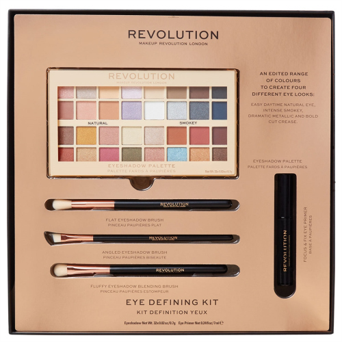 MEKEUP REVOLUTION - EYE DEFINING KIT - Zestaw prezentowy kosmetyków do makijażu oczu
