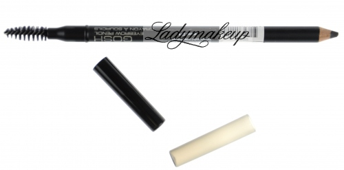 GOSH - Eyebrow pencil - Ołówek i szczoteczka do brwi