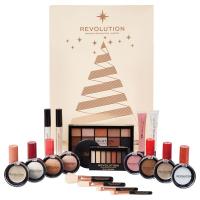 MAKEUP REVOLUTION - ADVENT CALENDAR 2018 - Kalendarz adwentowy z kosmetykami do makijażu
