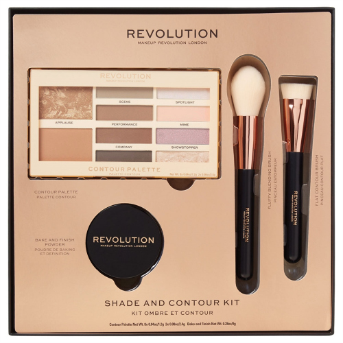 MAKEUP REVOLUTION - SHADE AND CONTOUR KIT - Gift set for face contouring