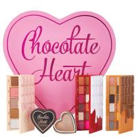 MAKEUP REVOLUTION - CHOCOLATE HEART - Eye and Face makeup Gift Set