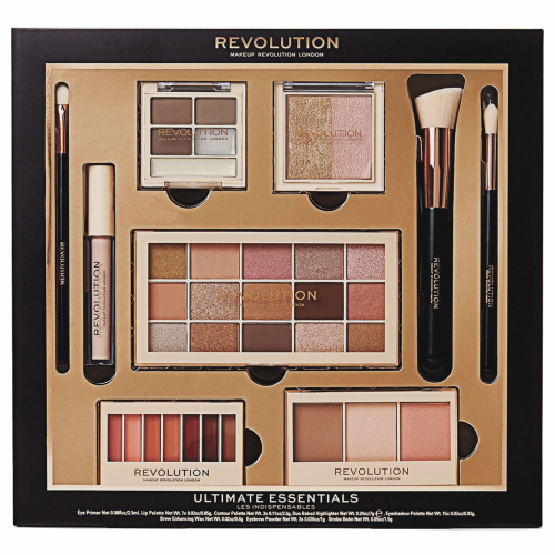 MAKEUP REVOLUTION - ULTIMATE ESSENTIALS - Zestaw prezentowy do makijażu twarzy