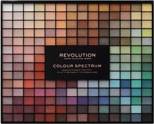 MAKEUP REVOLUTION -196 COLOR SPECTRUM MAKEUP PIGMENT PALETTE - Palette of 196 Eyshadows