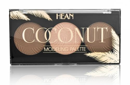 HEAN - COCONUT Modeling Palette - Paleta do konturowania twarzy