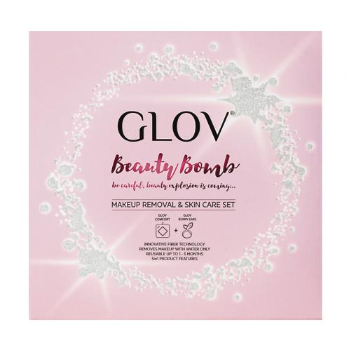 GLOV - Beauty Bomb - Glov COMFORT + Bunny Ears - Zestaw do oczyszczania i demakijażu
