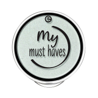 Essence - MY MUST HAVES - HOLO POWDER EYESHADOW - Holographic eye shadow - 04 - MINT MUSE - 04 - MINT MUSE