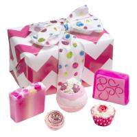 Bomb Cosmetics - Zest up - Glitter Gift - Zestaw kosmetyków do pielęgnacji - BROKACIK