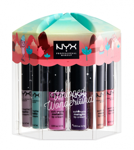 NYX Professional Makeup - Whipped Wonderland Soft Matte Mettalic Lip Cream Set - Zestaw prezentowy pomadek do ust