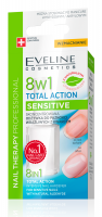 EVELINE - NAIL THERAPY PROFFESSIONAL 8in1 Total Action Sensitive
