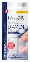 Eveline Cosmetics - NAIL THERAPY PROFFESSIONAL - Diamond Hardening Nail Conditioner - Utwardzająca odżywka do paznokci z diamentami