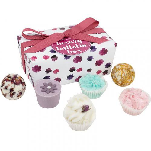 Bomb Cosmetics - Luxury Ballotin Box - Zestaw upominkowy - Bombonierka Luksusowa