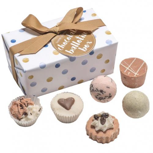 Bomb Cosmetics - Chocolate Ballotin Box - Zestaw upominkowy - Bombonierka Czekoladowa