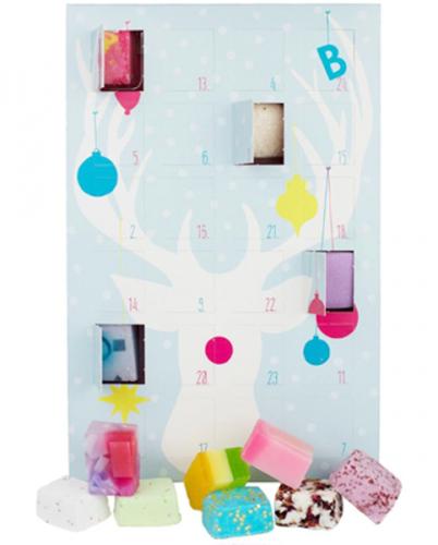 Bomb Cosmetics - Countdown to Christmas Advent Calendar - Kalendarz Adwentowy z kosmetykami do kąpieli - ŚWIĄTECZNY
