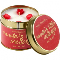 Bomb Cosmetics - Santa`s Little Melter - Hand-made scented candle with essential oils