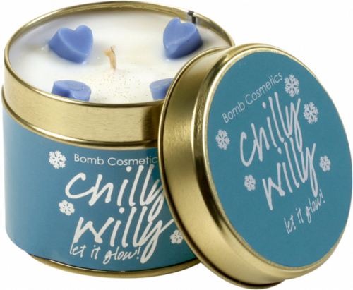 Bomb Cosmetics - Chilly Willy - Hand-made scented candle with essential oils