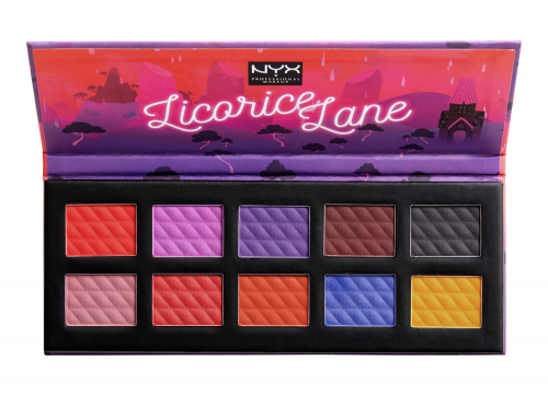 NYX Professional Makeup - Licorice Lane Shadow Palette