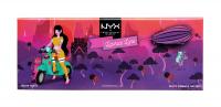 NYX Professional Makeup - Licorice Lane Shadow Palette - Paleta 10 cieni do powiek