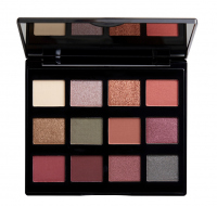 NYX Professional Makeup - MACHINIST SHADOW PALETTE - Paleta 12 cieni do powiek - 03 IGNITE