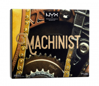NYX Professional Makeup - MACHINIST Shadow Palette - Paleta 12 cieni do powiek - 01 GRIND