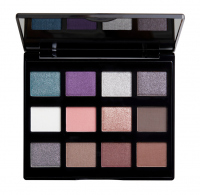 NYX Professional Makeup - MACHINIST Shadow Palette - Paleta 12 cieni do powiek - 02 STEAM
