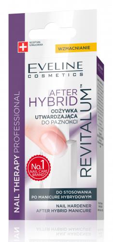 EVELINE - NAIL THERAPY PROFFESSIONAL After Hybrid - Odżywka do paznokci po manicure hybrydowym