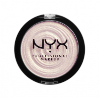 NYX Professional Makeup - Land of Lollies Illuminating Powder - Duochromatyczny rozświetlacz - 001 POWDERED SUGAR - 001 POWDERED SUGAR