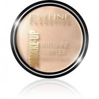 EVELINE - Art Make-Up - Anti-Shine Complex Pressed Powder - Puder mineralny z jedwabiem - 31 TRANSPARENT - 31 TRANSPARENT
