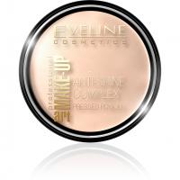 EVELINE - Art Make-Up - Anti-Shine Complex Pressed Powder - Puder mineralny z jedwabiem - 32 NATURAL - 32 NATURAL