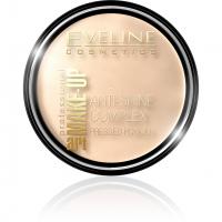 EVELINE - Art Make-Up - Anti-Shine Complex Pressed Powder - Puder mineralny z jedwabiem - 33 GOLDEN SAND - 33 GOLDEN SAND