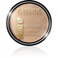 EVELINE - Art Make-Up - Anti-Shine Complex Pressed Powder - Puder mineralny z jedwabiem - 35 GOLDEN BEIGE - 35 GOLDEN BEIGE