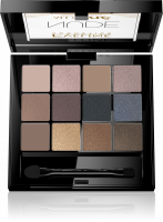 Eveline Cosmetics - All In One Eyeshadow Palette - Palette of 12 eyeshadows - 01 NUDE