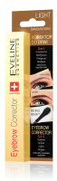 EVELINE - EYEBROW CORRECTOR 5in1 - Korektor do brwi 5w1 - LIGHT