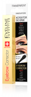 EVELINE - EYEBROW CORRECTOR 5in1 - TRANSPARENT