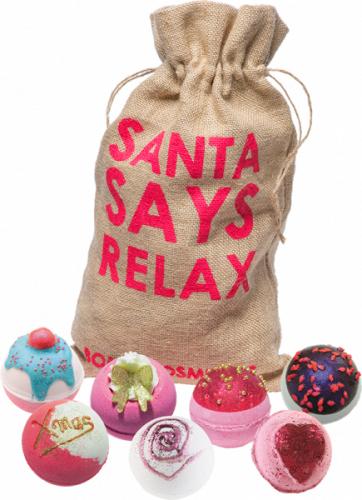 Bomb Cosmetics - Santa Says Relax - Gift set