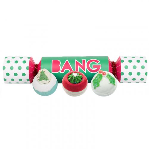 Bomb Cosmetics - BANG Cracker Gift Pack - Zestaw upominkowy w kształcie cukierka - BANG