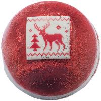 Bomb Cosmetics Festive Fair Isle - A sparkling bath ball