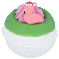 Bomb Cosmetics - Flamingo Ho Ho - Sparkling Bath Ball