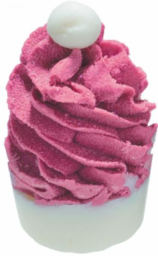 Bomb Cosmetics - Santa Hat - Creamy Bath Cupcake