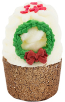 Bomb Cosmetics - Jingle All the Way - Creamy Bath Cupcake