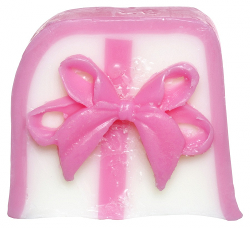 Bomb Cosmetics - Handmade Soap with Essential Oils - Take a Bow - Mydło glicerynowe - KOKARDA