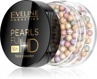 Eveline Cosmetics - PEARLS FULL HD Face Powder - Korygujący puder CC do twarzy w kulkach