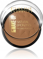 EVELINE - ART MAKE-UP - Natural Bronzing Pressed Powder - Puder brązujący - 50 Shine