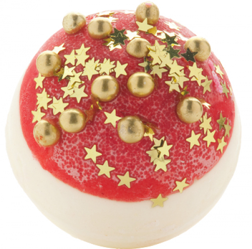Bomb Cosmetics - Glitterballs Bath Creamer - Maślana, kremowa kuleczka do kąpieli - DISCO