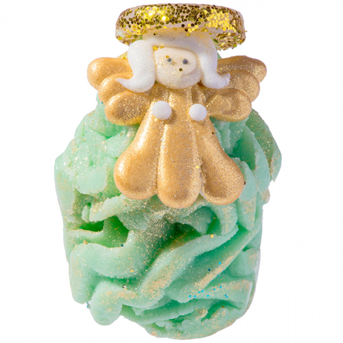 Bomb Cosmetics - Top of the Tree - Creamy Bath Cupcake