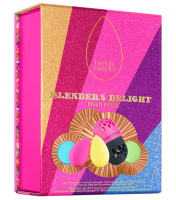 Beautyblender - Blender`s Delight Beauty Bundle - Christmas set 2 sponges for cosmetics, 2 mini soaps + protective case for blender