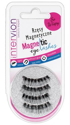 Inter-Vion - Magnetic Eyelashes - Magnetyczne rzęsy na pasku - SO WISPY - 498830C