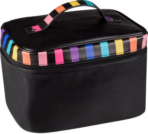 Inter-Vion - Kosmetyczka Tęcza - Duży kuferek RAINBOW - 415467