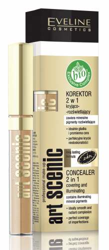 EVELINE - Art Scenic Concealer 2in1