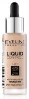 EVELINE COSMETICS - Liquid Control HD Mattifying Drop Foundation