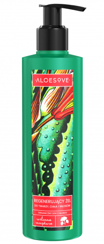ALOESOVE - Regenerating Face, Body and Hair Gel - 250ml